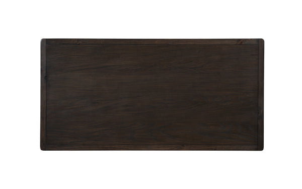 Kessel Brown Brushed Wood Counter Height Dining Table