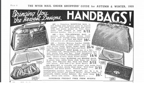 1935 Myers catalogue
