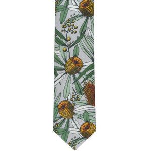 Banksia tie - Stylish Australiana - Ethical Australian Gifts and Souvenirs