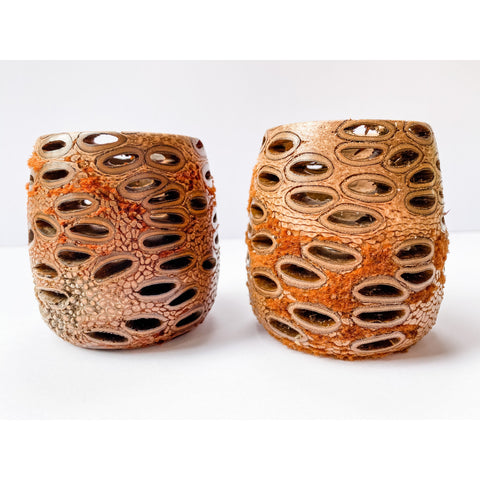 Banksia candle holders gift set