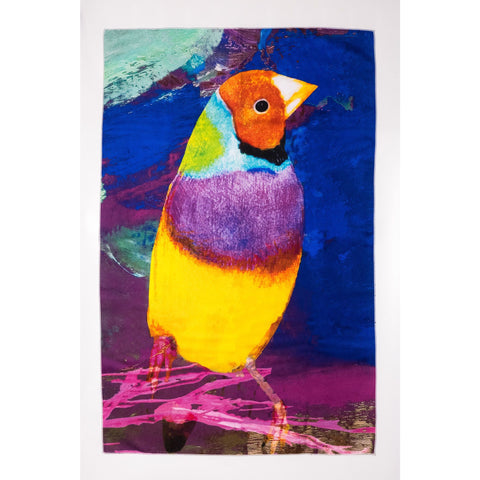 Gouldian Finch Tea Towel - Stylish Australiana - Ethical Australian Gifts and Souvenirs