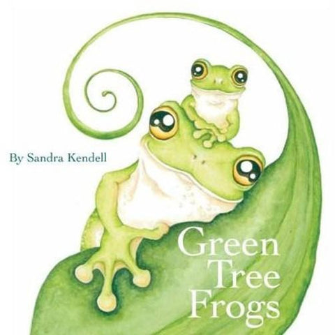 Native Australian Green Tree Frogs childrens story