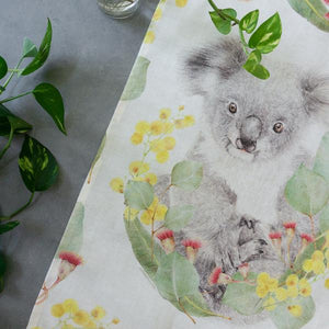 Koala Tea Towel - Stylish Australiana - Ethical Australian Gifts and Souvenirs