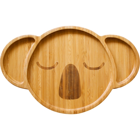 Karri Koala Bamboo Plate - Stylish Australiana - Ethical Australian Gifts and Souvenirs