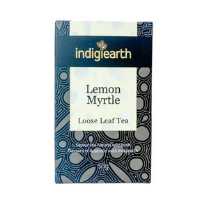 Native Australian lemon myrtle loose leaf tea