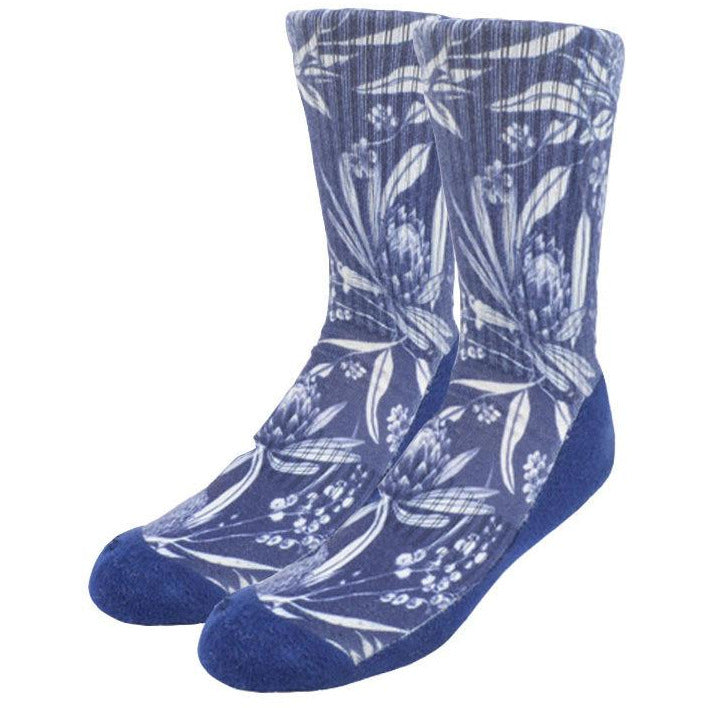 Native floral socks - Stylish Australiana - Ethical Australian Gifts and Souvenirs
