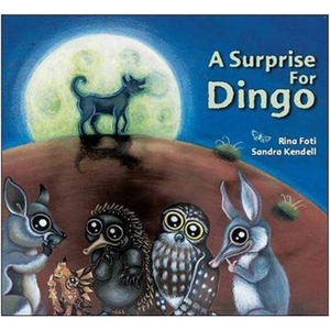A Surprise for Dingo childrens story native Australian animals