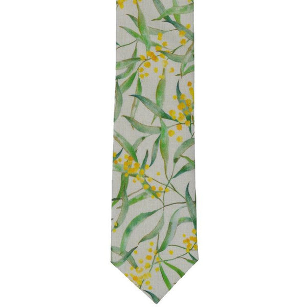 Wattle tie - Stylish Australiana - Ethical Australian Gifts and Souvenirs