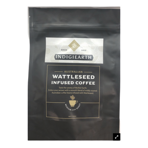 Australian gift for coffee lovers wattleseed infused Australian coffee