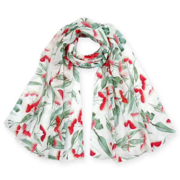 Gum blossom scarf - Stylish Australiana - Ethical Australian Gifts and Souvenirs