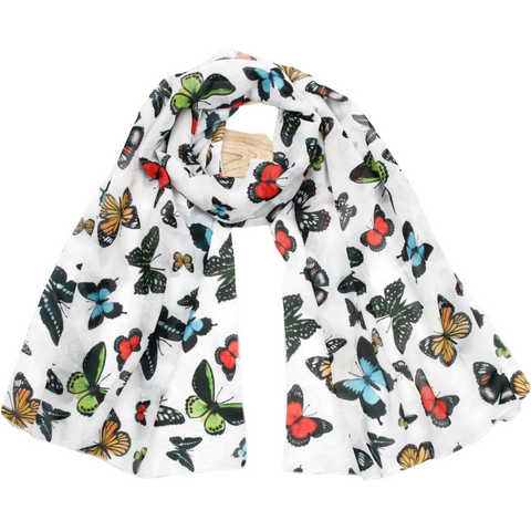 Butterflies of Australia scarf - Stylish Australiana - Ethical Australian Gifts and Souvenirs
