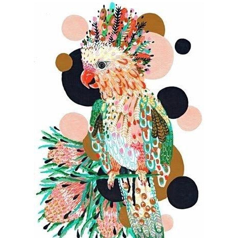 Cockatoo - Art print - Stylish Australiana - Ethical Australian Gifts and Souvenirs