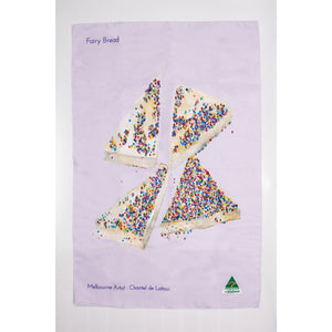 Fairy Bread Tea Towel - Stylish Australiana - Ethical Australian Gifts and Souvenirs