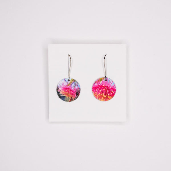 Gum blossom earrings - Stylish Australiana - Ethical Australian Gifts and Souvenirs