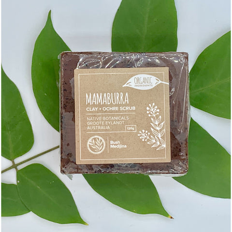 Mamaburra (Wild Peach) Clay & Ochre Scrub - Stylish Australiana - Ethical Australian Gifts and Souvenirs