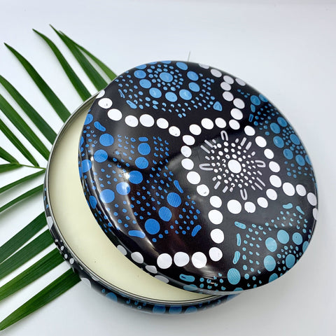 Lemon Myrtle Candle Tin - Stylish Australiana - Ethical Australian Gifts and Souvenirs