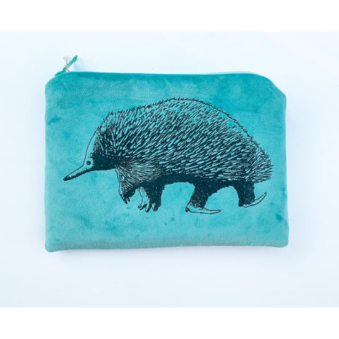 Native Australian animal gift echidna purse