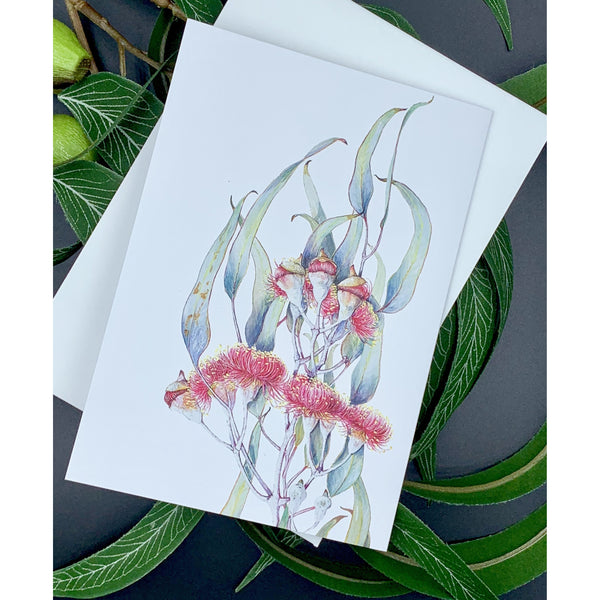 Greeting card silver princess eucalyptus - Stylish Australiana - Ethical Australian Gifts and Souvenirs