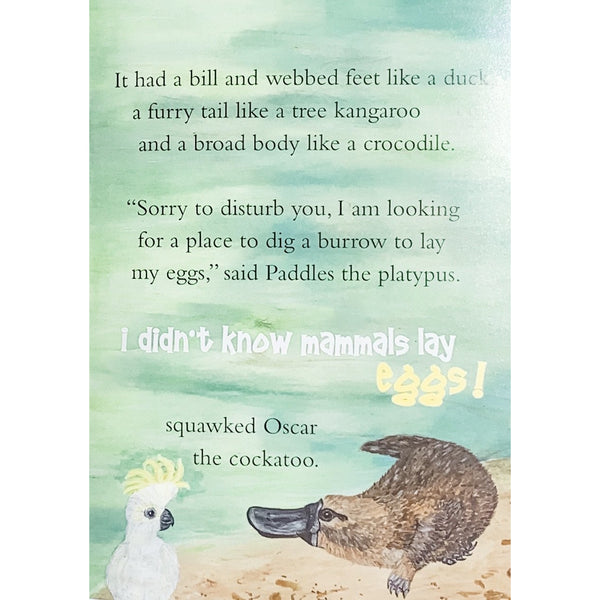 childrens story books made in australia about native australian animals