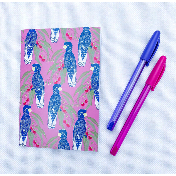 Blue Cockatoo Notebook