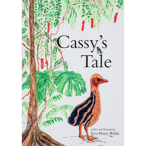 baby cassowary childrens book made in Australia