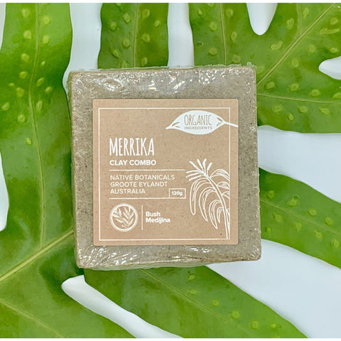 Merrika (Broad Leafed Wattle) Clay Combo Cleanser - Stylish Australiana - Ethical Australian Gifts and Souvenirs
