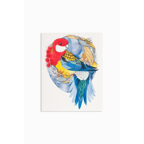 Greeting card - Rosella - Stylish Australiana - Ethical Australian Gifts and Souvenirs