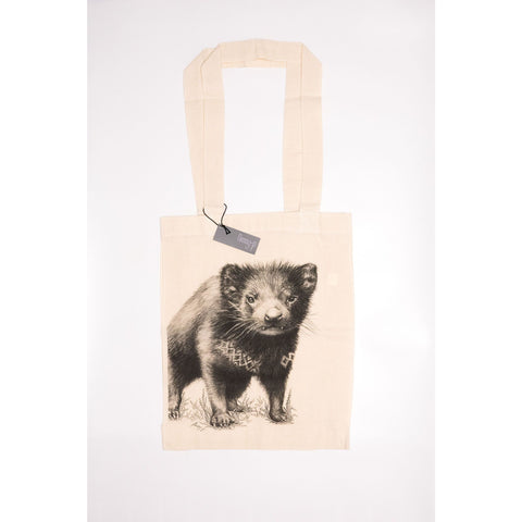 Tasmanian Devil Tote Bag - Stylish Australiana - Ethical Australian Gifts and Souvenirs