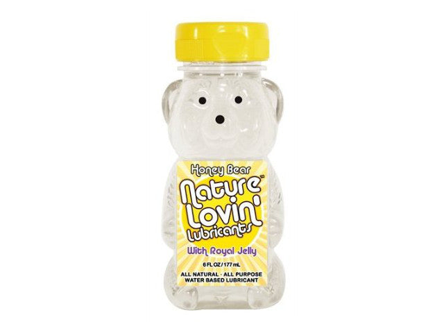 Nature Lovin' Lube Honey Bear Water Based 6oz