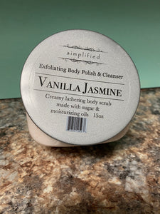 15oz Vanilla Jasmine Body Polish