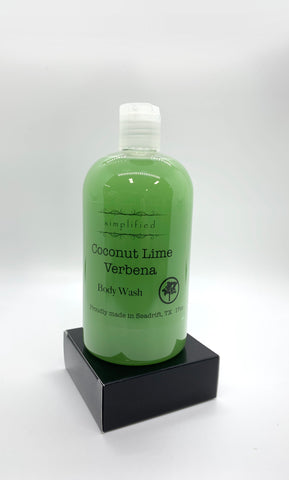 17oz Coconut Lime Verbena Body Wash
