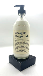 16oz Pineapple Mango Goat's Milk Lotion