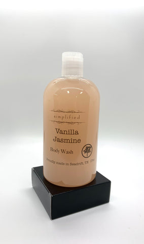 17oz Vanilla Jasmine Body Wash