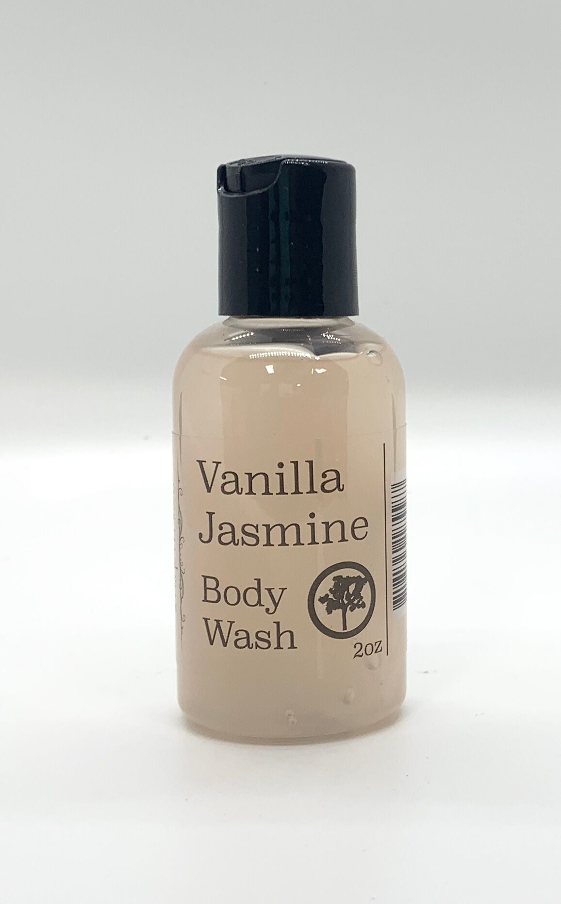 2oz Vanilla Jasmine Body Wash