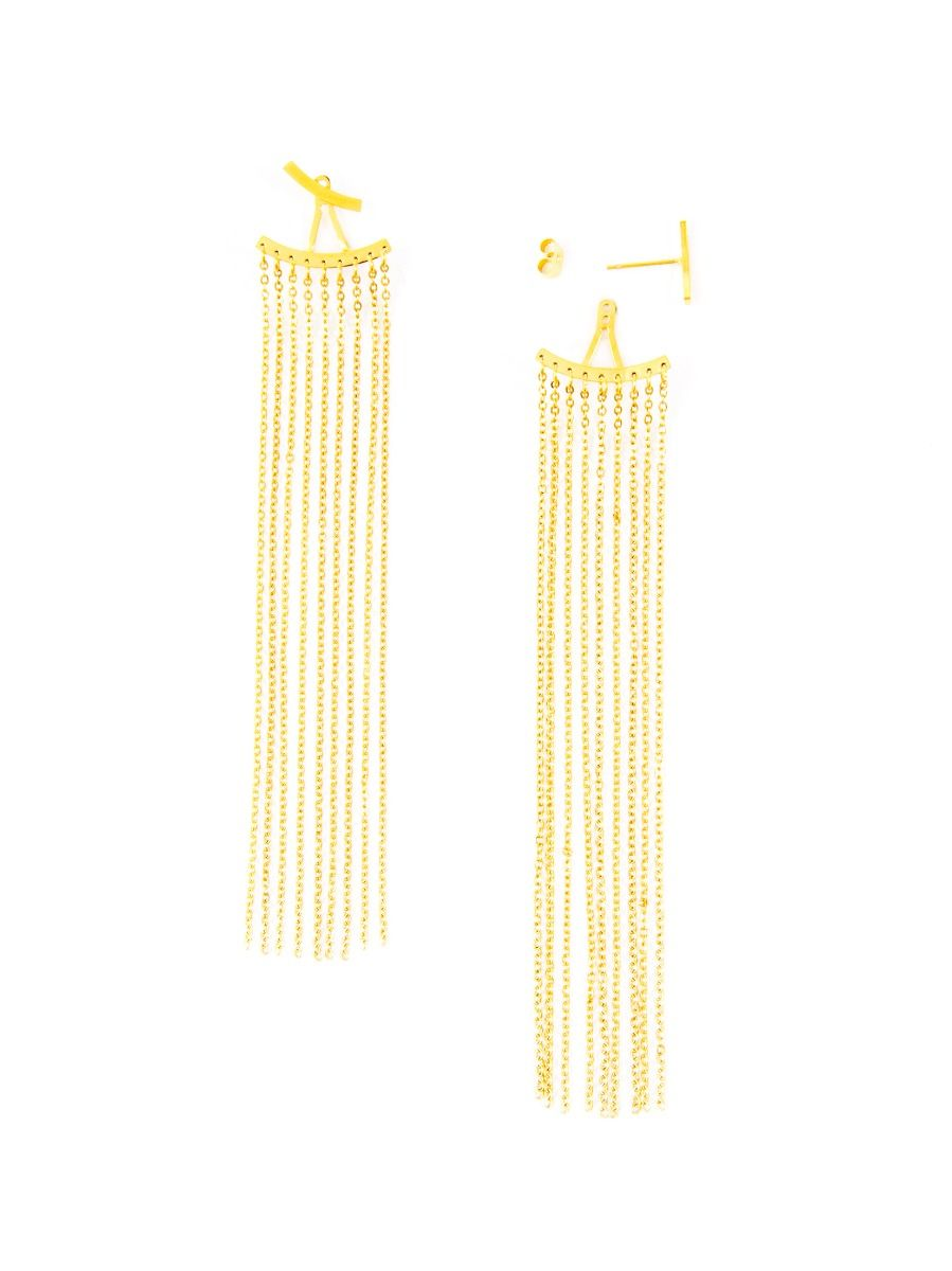 Gold Duster Earrings