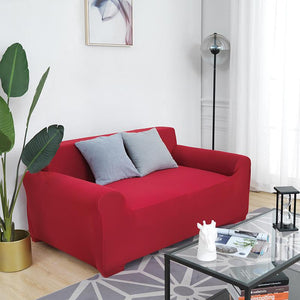Magic Sofa Cover - Dark Red