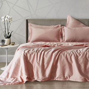 Solid Cotton Bedspread - 3pcs