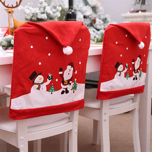 Christmas Dining Chair Slipcovers