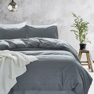 Comfort Cotton Solid Bedspread