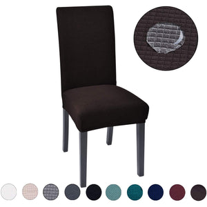 Decorative Chair Covers - Chocolate