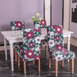 Decorative Chair Covers - Burgundy