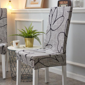 Decorative Chair Covers - Dark Grey