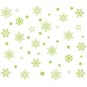 Snowflake Removable Wall Sticker