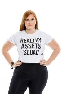 Healthy Assets Squad Crop Top