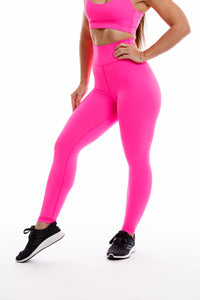 Thrive Legging: Pink