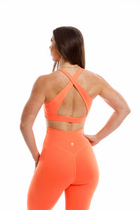 Thrive Bra: Fire Orange
