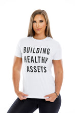 Load image into Gallery viewer, Building Healthy Assets Unisex T-Shirt