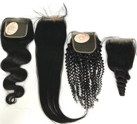 4x4 Lace Closures
