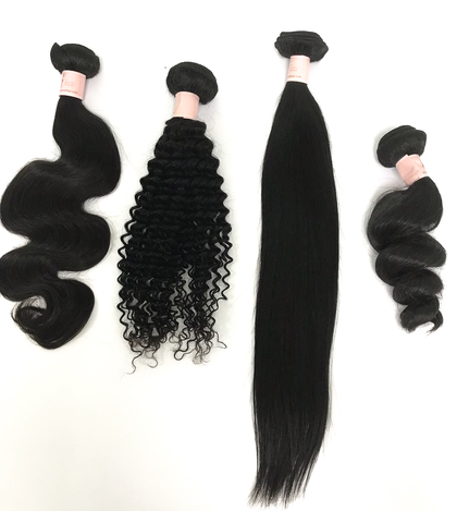 Wefted Hair Bundles