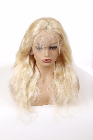 Full Lace Wig: Body Wave (Blonde)